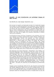 """Das Manifest der """"Alpe Spluga"""" - Keep Wild Climbs"""