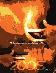 Philippine Human Development Report 2005