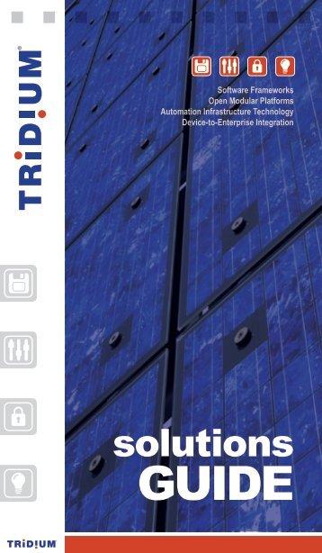 solutions - Tridium