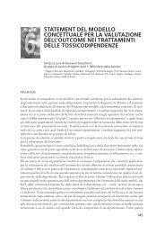 Statement del modello concettuale per la valutazione dell ... - Dronet