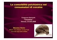 La comorbilità psichiatrica nei consumatori di cocaina - Dronet