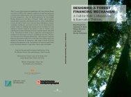 designing a forest financing mechanism - Fletcher School of Law ...