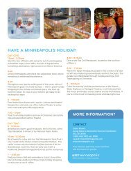 Holidays and Mississippi Guide - Minneapolis