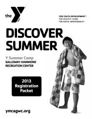 Burnet Summer Camp Registration Packet