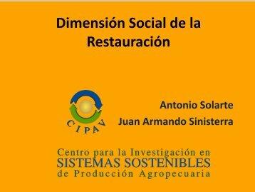 Dimensión Social de la Restauración