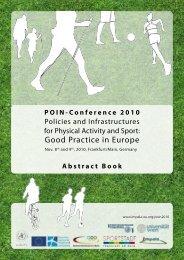 POIN2010 Abstract Book - Impala-eu.org