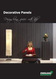 Decorative Panels Design living spaces- with style - emsland-paneele
