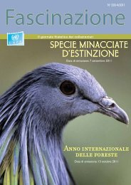 specie minacciate d'estinzione - United Nations Postal Administration
