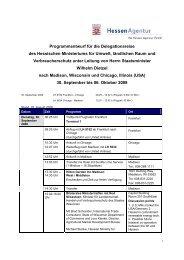 ` Programmentwurf für die Delegationsreise des ... - Babcock Institute