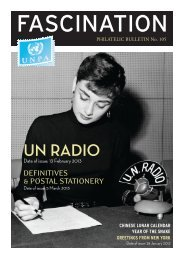 Bulletin 105 - United Nations Postal Administration - ONU