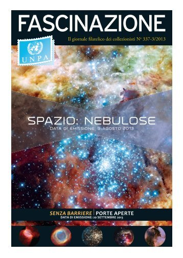SPAZIO: NEBULOSE - United Nations Postal Administration - ONU