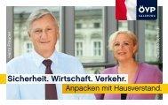 Sicherheit. Wirtschaft. Verkehr. - ÖVP Salzburg