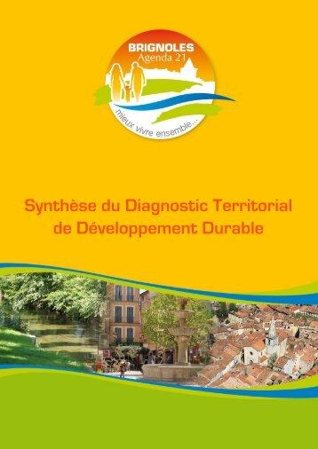 Synthèse du Diagnostic Territorial de ... - Ville de Brignoles