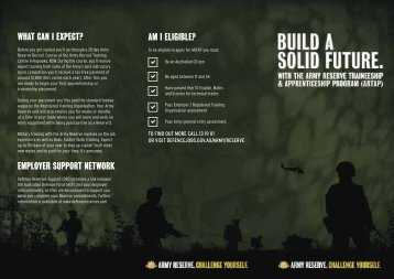 Am I elIgIble? - Australian Defence Force Recruiting