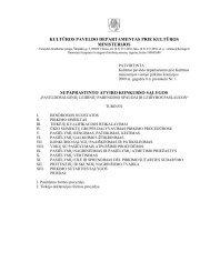 Konkurso salygos.pdf - Kultūros paveldo departamentas