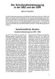 Die Schullandheimbewegung in der SBZ und der DDR - Verband ...