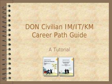 DON Civilian IM/IT/KM Career Path Guide - NASA Wiki