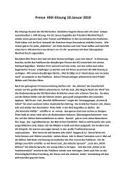 1. KKK-Sitzung 2010 - KG Närrische Grielächer Worringen von 1902 ...