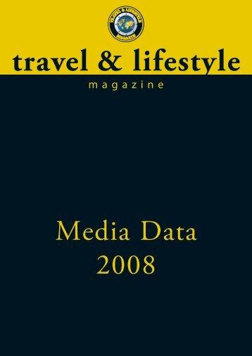 0711-Mediadaten 2008:Travel & Lifestyle Magazin 03