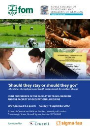 'Should they stay or should they go?' - Faculty of Occupational ...