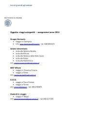 viaggi_2013.pdf (42 KB) - Politecnico di Milano