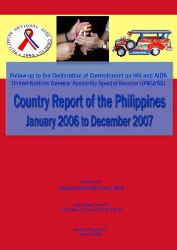 Philippines - Country Progress Report - unaids