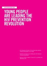 Young people are leading the HIV prevention revolution - unaids