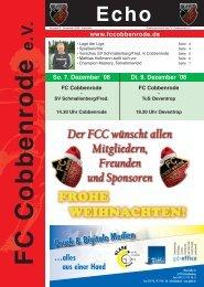 Ausgabe 5 - FC Cobbenrode 1926 eV