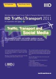 Social Media - IIID Expert Forum Traffic Guiding Systems