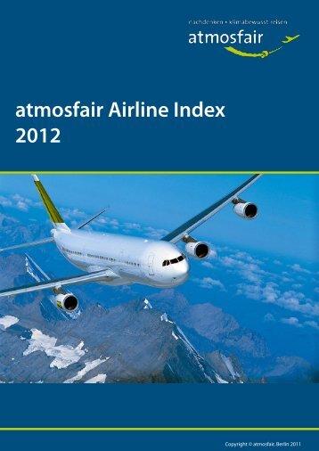 atmosfair Airline Index 2012