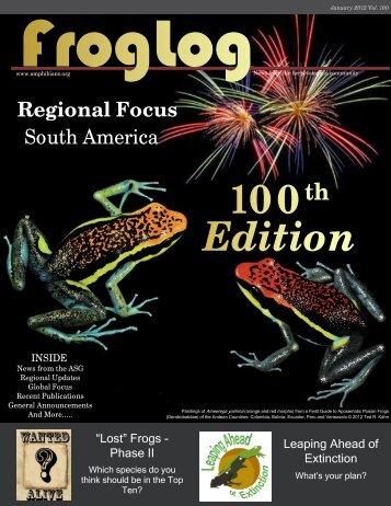 Regional Focus - Amphibian Specialist Group