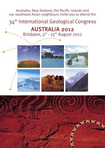 8519 Geological Congress bid NEW - Geoscience Australia