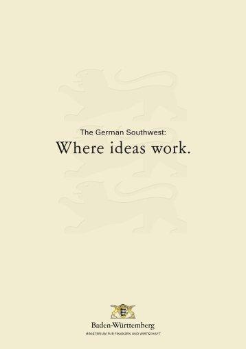 Where ideas work. (deutsch) - Bw-invest