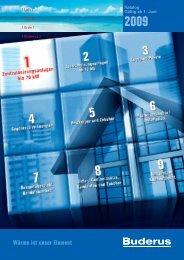 2009 Wärme ist unser Element - Buderus