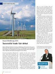Husum WindEnergy 2010 Successful trade fair debut