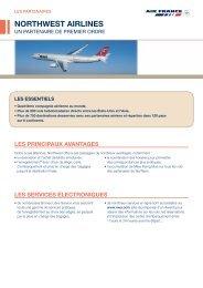 NORTHWEST AIRLINES - afklm-newsaffaires.fr