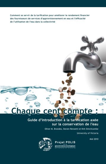 Chaque cent compte : - POLIS Water Sustainability Project