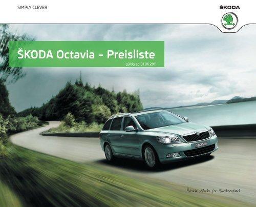 ŠKODA Octavia – Preisliste - J.H. Keller AG