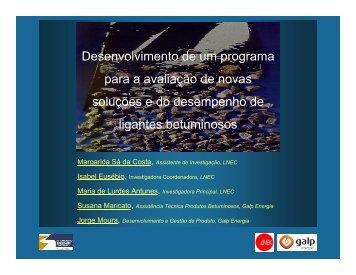 Programa para avaliação de novas soluções e do ... - CRP