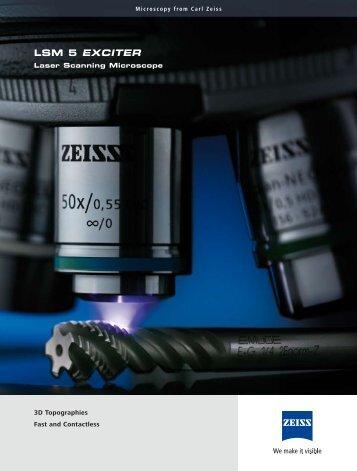 LSM 5 EXCITER - Carl Zeiss