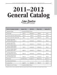 2011–2012 General Catalog - LBCC Paperless Office - Linn-Benton ...
