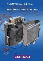 combi coolers examples - EMMEGI Gmbh