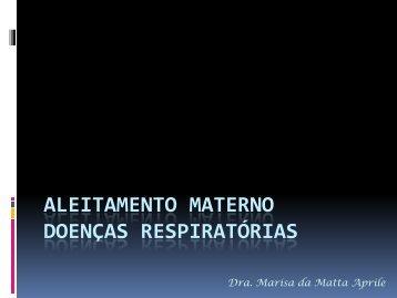 Aleitamento Materno Doenças Respiratórias