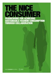 The NICE Consumer Framework for Achieving Sustainable Fashion