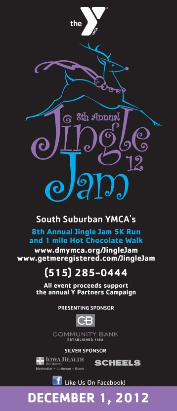 DECEMBER 1, 2012 - YMCA of Greater Des Moines