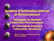 Système d'information Internet et Environnement - CRRM à