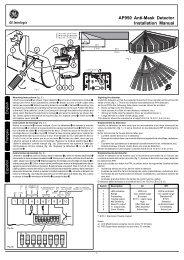AP950 Anti-Mask Detector Installation Manual - Interlogix
