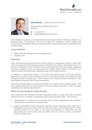 Chris Graham   Lawyer, Government Team ... - MacDonnells Law