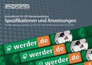 Spezifikationen und Anweisungen - ProShop Europe