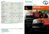 Brochure (PDF) - Kubota